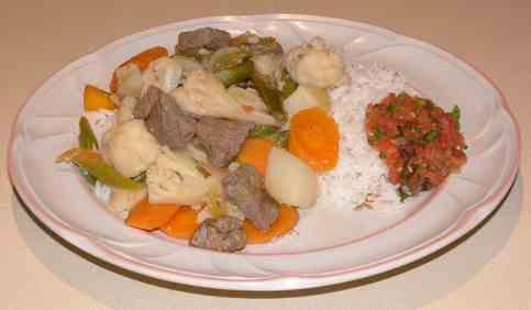 Jardiniere De Legumes Beef With Vegetables Stew
