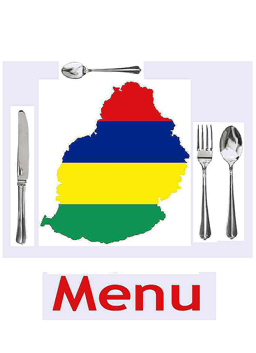 Access Menu Recipes from Mauritius